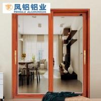 南昌凤铝铝合金封阳台 凤铝110三轨推出窗带金刚网纱窗