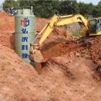 上海弘泱专业定制一体化预制泵站 玻璃钢材质