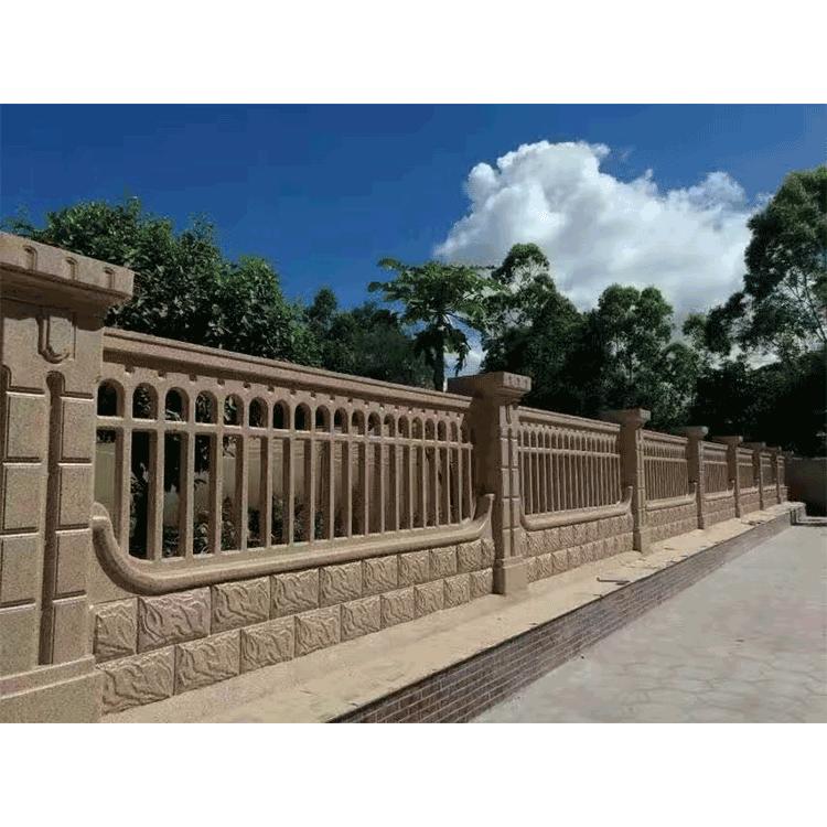 清水混凝土围墙栏杆