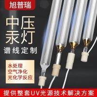 液体化学反应试验用中压紫外线灯 纯水净化污水处理uvc中压汞