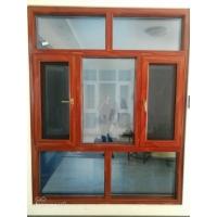 断桥窗纱一体窗扇平框大圆弧压线免打胶120系列