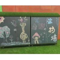 幼儿园户外涂鸦储物柜价格  户外涂鸦柜批发  户外涂鸦储物柜