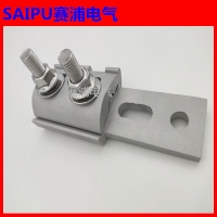 断路器通线夹SPW设备线夹平板节能JPX线夹隔离开关铝线夹