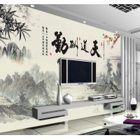 3D 5D 8D 电视背景墙,手绘壁画,软硬包均可定制