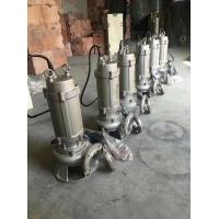 供應WQ(D)全不銹鋼精密鑄造污水污物潛水電泵