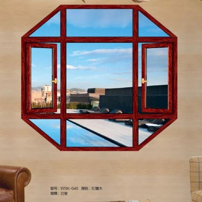 沃斯卡门窗 新75尊享系统窗系列 WSK-040