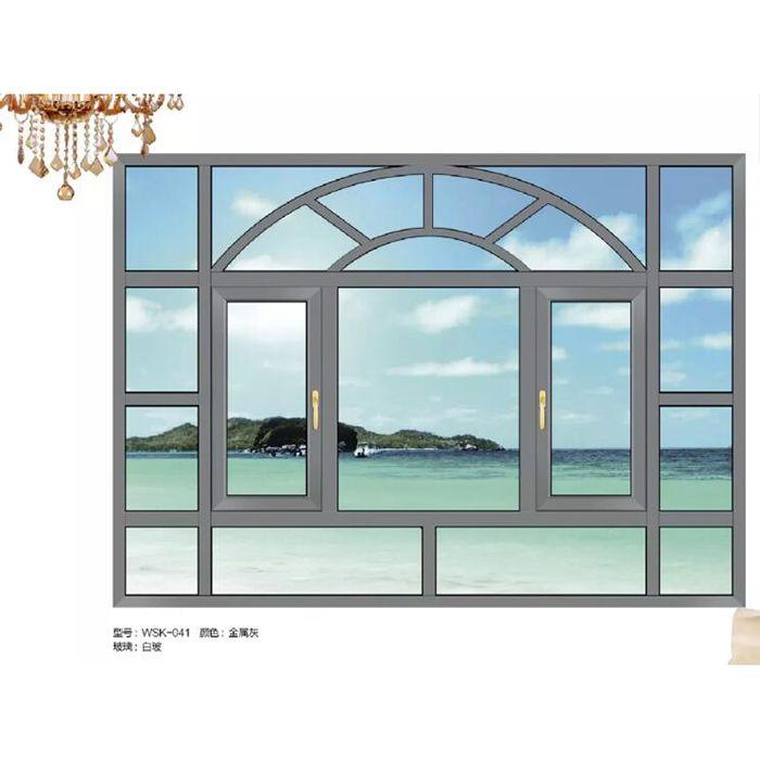 沃斯卡门窗 新75尊享系统窗系列 WSK-041