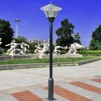 中式仿古庭院路灯双头庭院灯小区公园别墅路灯园林景观灯LED路