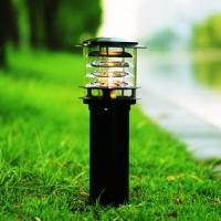 户外太阳能草坪灯方形花园灯 LED中式庭院灯景观灯欧式路灯定