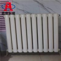 GZ209钢管柱型二柱散热器@钢管柱型二柱散热器价格@方片头