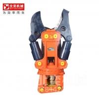 挖掘机加装液压剪可以提高生产效率及安全性