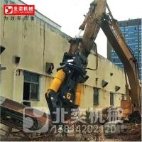 挖掘机双缸液压剪用于剪钢筋废钢铁皮厂房拆解