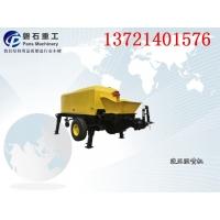 重庆防护挂网泵送式湿喷浆机