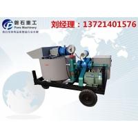 河南省建筑工程注浆制浆一体机 锚喷机