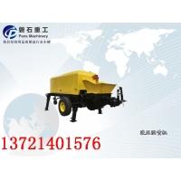 北京市岩峰湿喷机混凝土输送泵