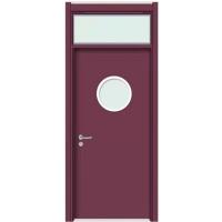 学校门厂家安装改造 筑森定制CPL教室门
