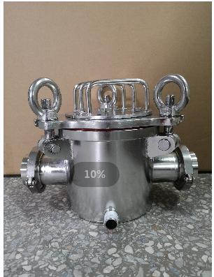 高效強磁除鐵水處理液體過濾器