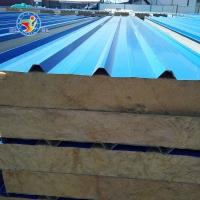 岩棉夹芯板 岩棉保温板 岩棉夹心屋面板 岩棉夹心墙面板