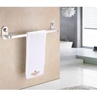 免打孔毛巾架 螺旋灌胶太空铝 浴室加厚单杆毛巾杆