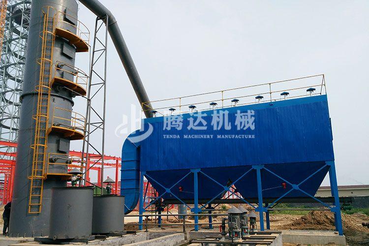 郑州腾达机械脱硫除尘石灰石 石膏法脱硫工艺
