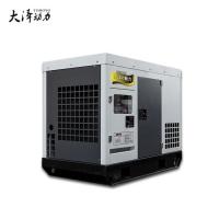 银行应急50kw静音柴油发电机组