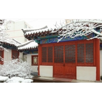 中式茶楼酒店别墅等仿古建筑门窗 寺庙道观门窗  批发直销