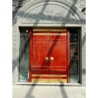 成都中式实木仿古大门,传统大门