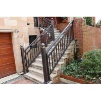 江西铝艺楼梯扶手价格|1.1m高铝艺楼梯扶手定制  图片