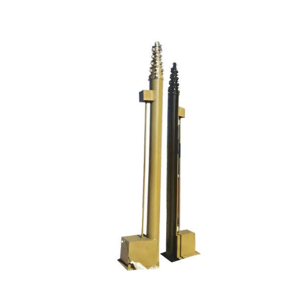 汇龙公司定制电动升降避雷针 升降杆价格 可定制升降式避雷针