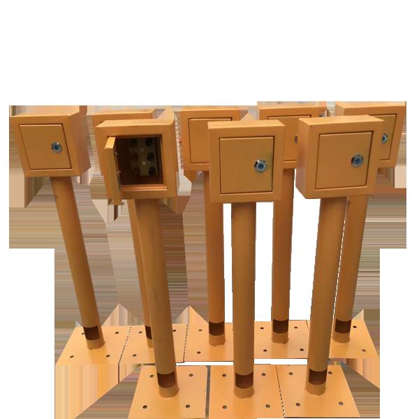 汇龙厂家各材质阴极保护测试桩 测试桩价格 管道测试桩批发