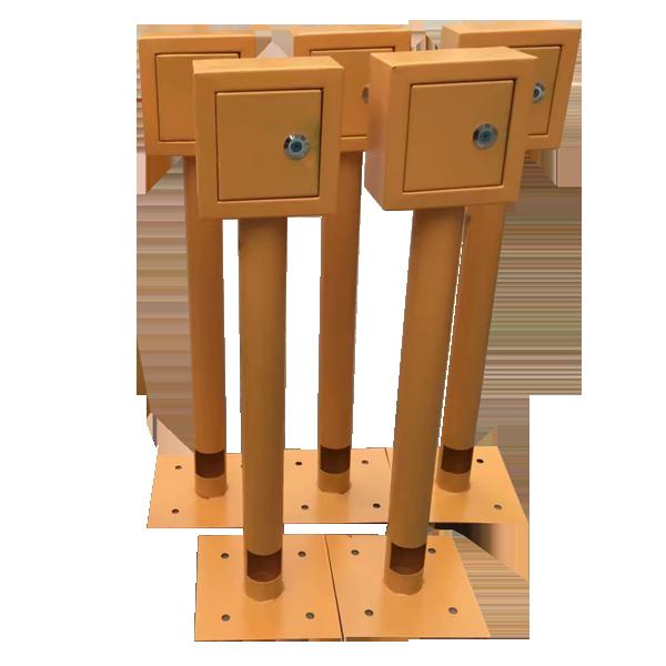 河南生产常用各型号不锈钢测试桩绝缘接头测试桩管道测试桩批发