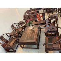 成都茶楼茶座定制家具,仿古明清茶楼定做,新中式家具茶座定做