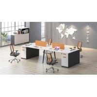 职员办公桌4人位组合l型办公桌办公室电脑员工屏风6人位桌椅家