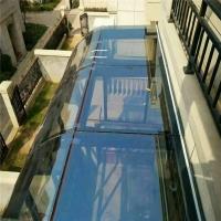北京东城封玻璃顶  制作露台玻璃顶
