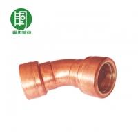 上海铜水管批发_紫铜管件45度弯头-铜步管业