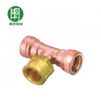 铜步管业TBA系列:限位自动锁紧式速接管件