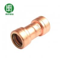 建筑用铜管件主要连接方式_铜步限位自动锁紧式铜水管连接