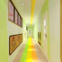 塑胶PVC同质透心耐压弹性通透地板