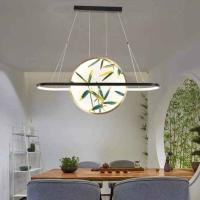 顾家照明新中式吊灯 材质铜加珐琅彩  直径80公分
