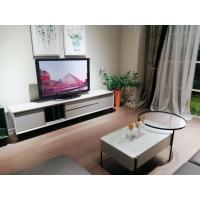 烤漆電視柜現代客廳玻璃臺面組合茶幾