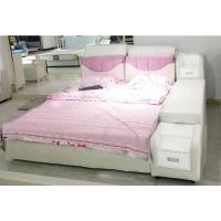 多功能床真皮床1.8米双人床主卧现代简约软床婚床