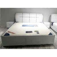 北欧皮床现代简约双人床1.8米主卧婚床卧室