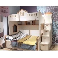 全实木高低床上下床双层床成人子母床实木儿童床上下铺床母子床