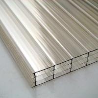 12mm十年四层阳光板(透明/湖蓝/草绿)