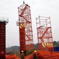 附网安全爬梯 香蕉式安全爬梯  桥梁大坝施工上下通道