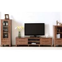 榆林实木电视柜现代简约新中式