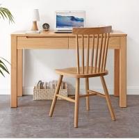 榆林书桌书椅书柜书架 实木家具定制家具厂