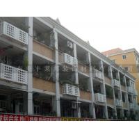 广州金铝质空调外机罩 铝单板雕花空调罩定制