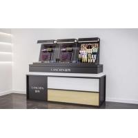 无锡锡山化妆品护肤品柜台展示柜上门测量