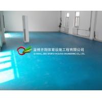 室內體育場館的PVC運動地板專業鋪設